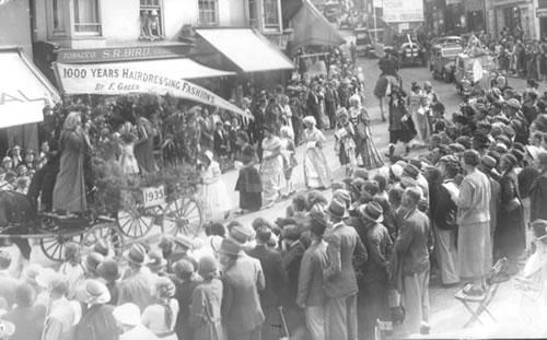 Ryde Carnival 1935 © Ryde Carnival association