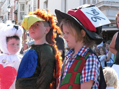 Ryde Children's Carnival © of Photograph Ann Claire Kay